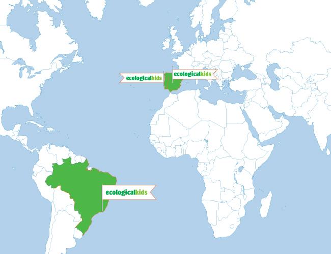 A Ecologicalkids está agora no Brasil, Espanha e Portugal